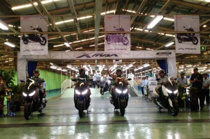 Pabrik Yamaha di Pulogadung, Jakarta Timur