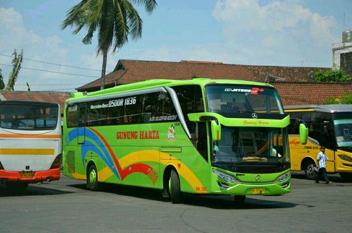 Ilustrasi PO Gunung Harta