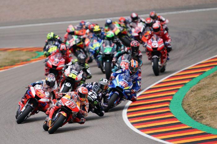 Pergantian gigi motor MotoGP