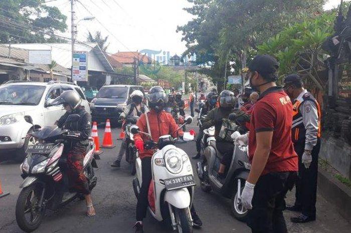 Ilusatrasi ganjil genap di Bali