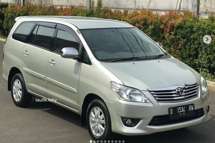 Toyota Kijang Innova Diesel Tipe G 2012 Mobil Perawatan Dilego Segini Gridoto Com