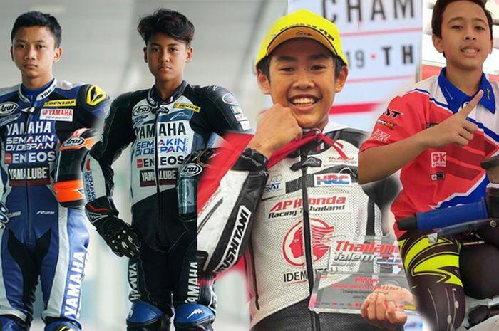 Empat pembalap motor remaja berprestasi di Asia