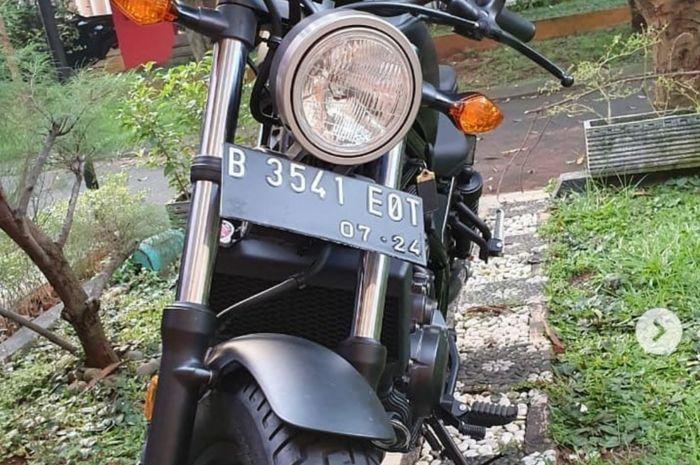 2 bulan hilang, Honda Rebel CMX500, dibawa kabur telah ditemukan