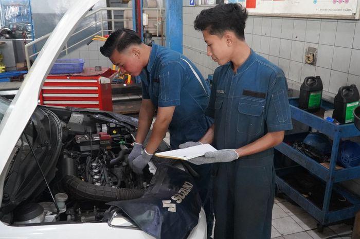 Menurunnya jumlah unit entry ke bengkel, dimanfaatkan Suzuki untuk mempercepat penanganan masalah teknis kendaraan yang dikirim oleh diler secara berkala