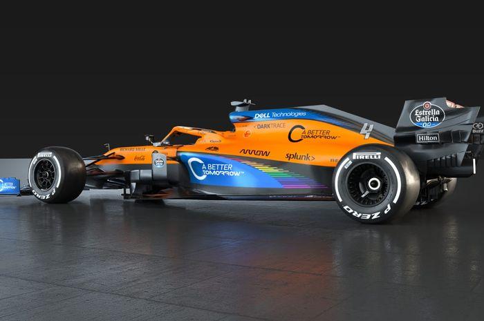 Susul Mercedes Tim Mclaren F1 Juga Luncurkan Livery Baru Untuk Lawan Rasisme Gridoto Com
