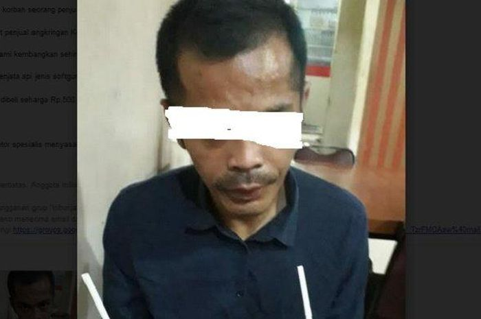 Handoko pelaku pencurian sepeda motor spesialis menyasar pemilik warung makan di Semarang, Jumat (17/7/2020) malam.