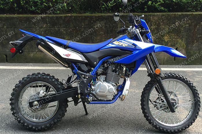 Penampakan Xcross Leaf 125, trail kloningan Yamaha WR 155R