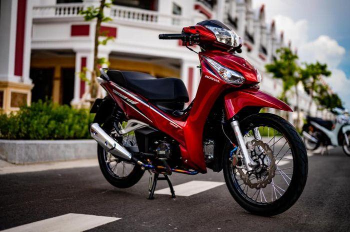Dimodif Minimalis Honda Supra X 125 Helm In Tampil Makin Elegan Gridoto Com