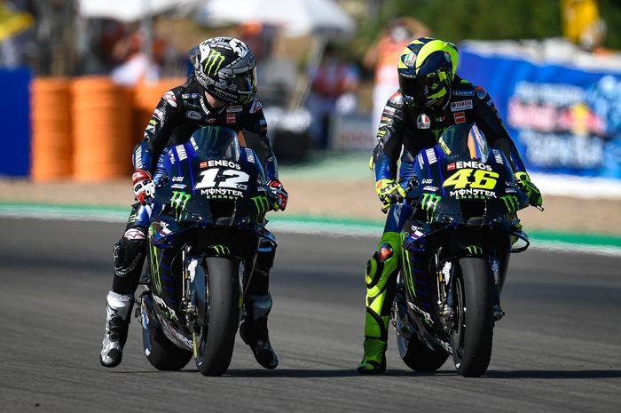Maverick Vinales minta maaf kepada Valentino Rossi atas kejadian di MotoGP Andalusia 2020