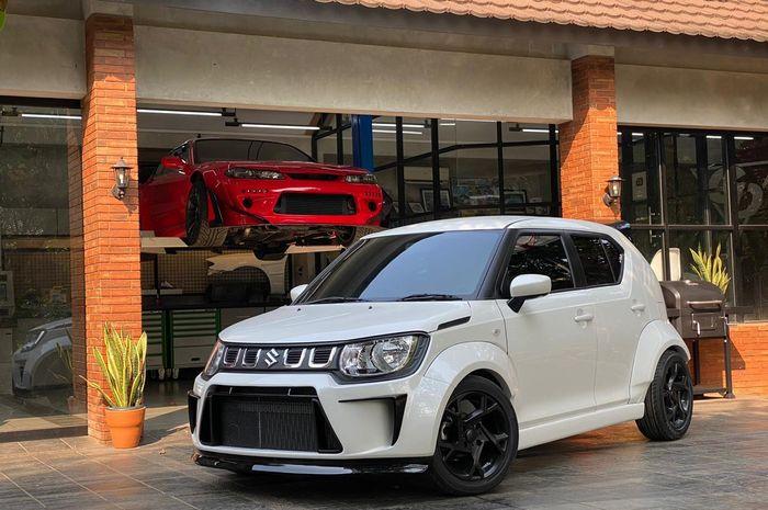 Suzuki Ignis bergaya Time Attack ala Garasi Drift