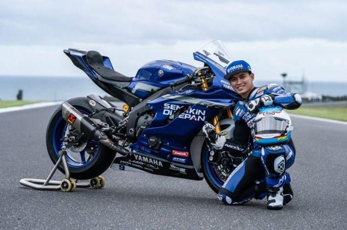 Galang Hendra Pratama masih akan harumkan Indonesia di kancah World Supersport.