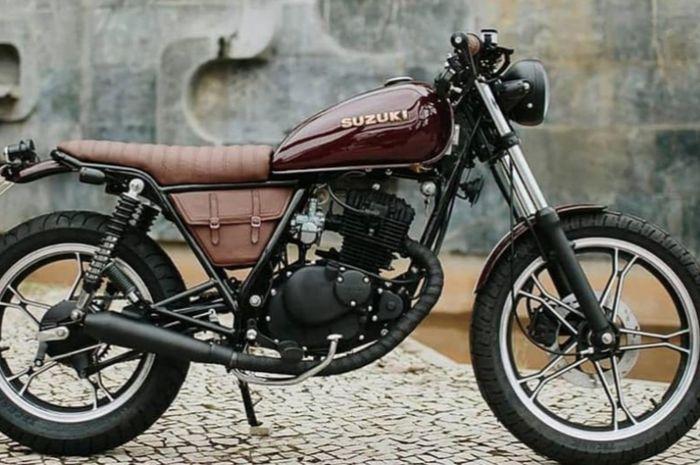 Konsep japstyle dari basis Suzuki Thunder 125 dengan biaya terjangkau