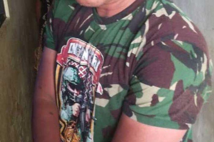 ILUSTRASI anggota TNI gadungan