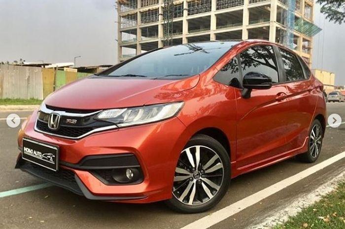 Honda All New Jazz Rs 2017 Black Top Edition Seken Harga Jualnya Cuma Segini Gridoto Com