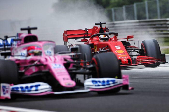 Ferrari tak terima jika Racing Point masih diizinkan untuk menggunakan brake duct yang sama