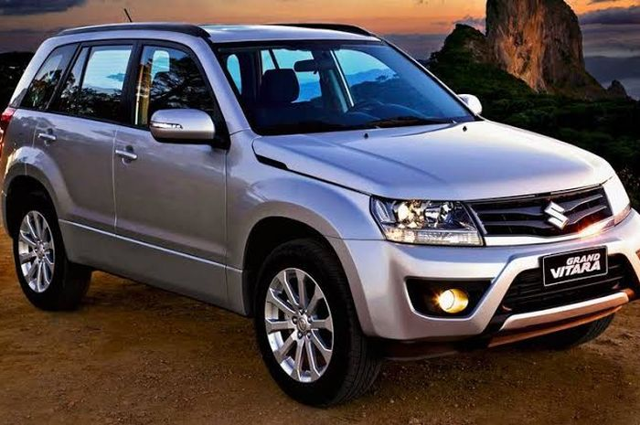 Ilustrasi Suzuki Grand Vitara facelift