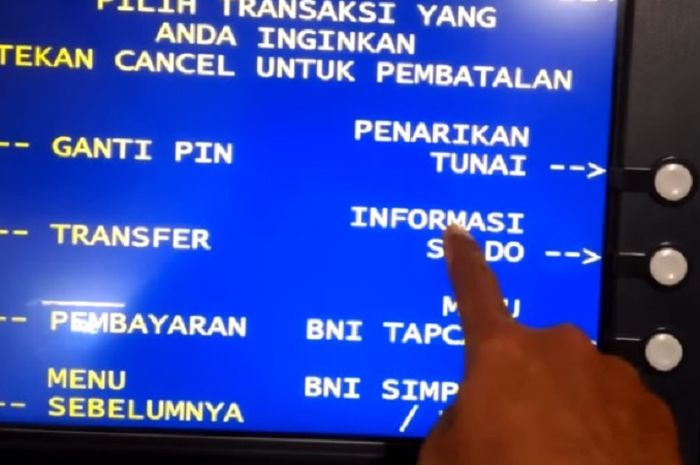 Pemerintah akan berikan bantuan untuk masyarakat, jangan lupa cek saldo ATM.