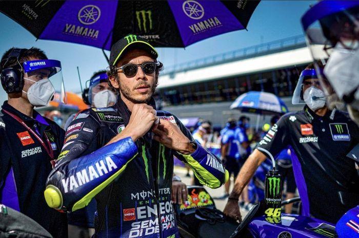 Ternyata Valentino Rossi tidak kontrak langsung dengan Petronas Yamaha SRT
