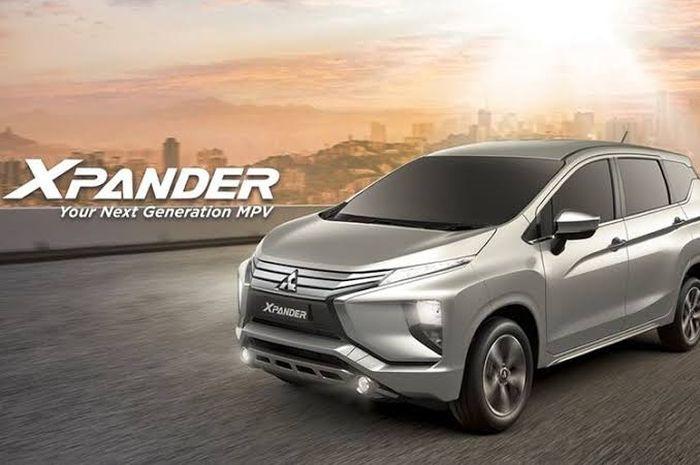 Ilustrasi Mitsubishi Xpander MY20