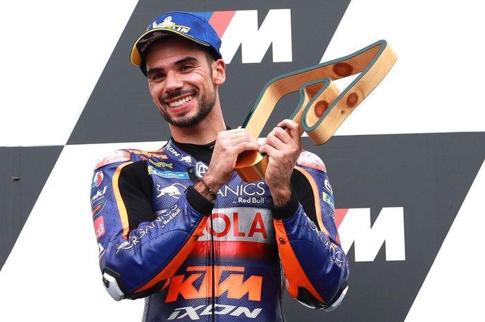 Miguel Oliveira menang di MotoGP Stiria 2020, bos tim Tech3 enggak jadi pensiun