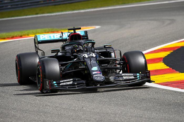 Lewis Hamilton terus tambah koleksi kemenangannya usai menjuarai F1 Belgia di sirkuit Spa-Francorchamps (30/8)