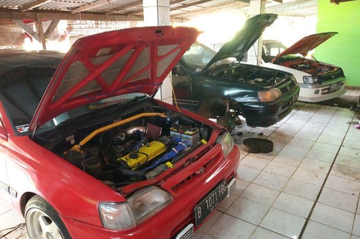 Kandang Abutak, bengkel spesialis Toyota Starlet di Cikarang Barat, Bekasi