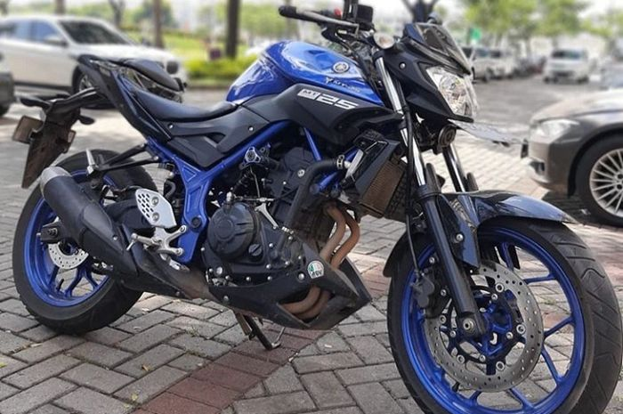 Yamaha MT-25 seken