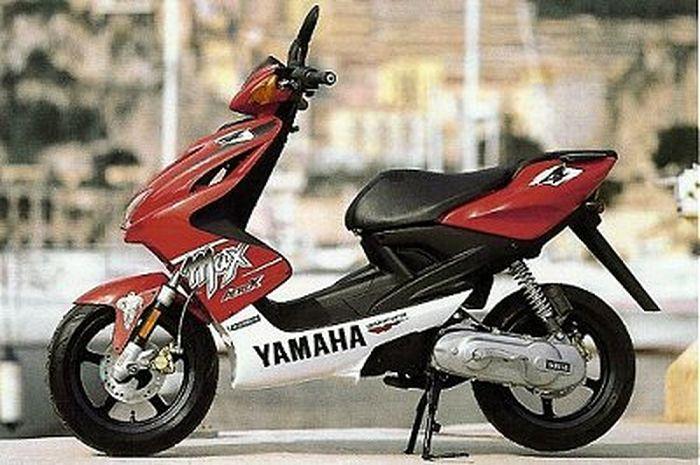 penampilan dari Yamaha Aerox YQ100