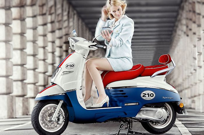 Peugeot Django 125 ABS 210th Anniversary there are only 21 units