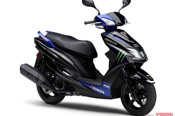 sosok Yamaha Cygnus-X Monster Energy MotoGP Edition 2021