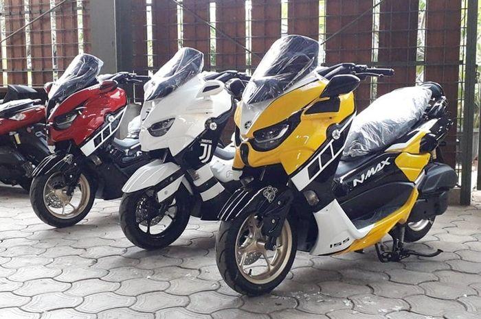 Contoh body kit Yamaha NMAX Predator buatan JJ Airbrush