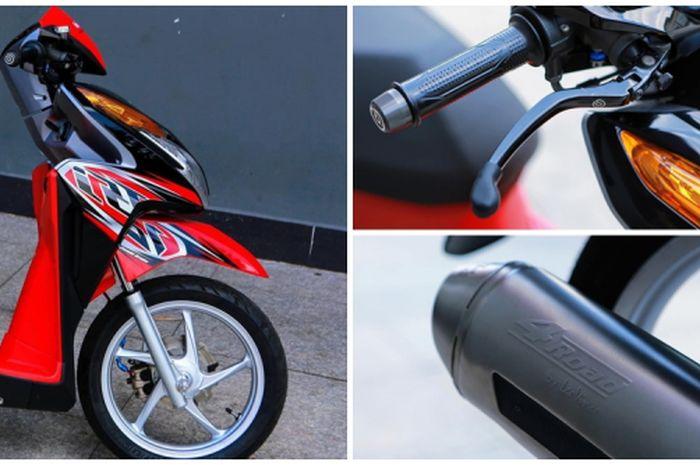 Modifikasi Minimalis Honda Vario Techno 125 Tampang Kian Menawan Gridoto Com