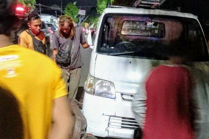 Kecelakaa antara Suzuki Carry, Gran Max dan Toyota Avanza yang mengakibatkan 1 korban tewas