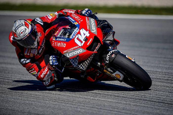 MotoGP Portugal 2020 jadi seri terakhir Andrea Dovizioso di tim Ducati.