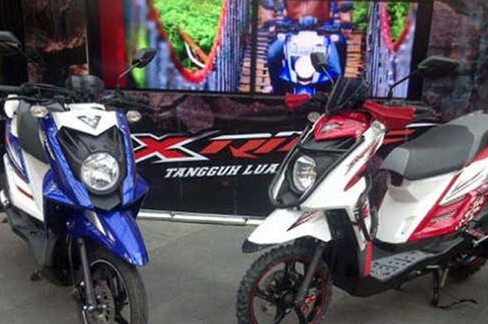 Ilustrasi. Yamaha X-Ride 110 rakitan 2014