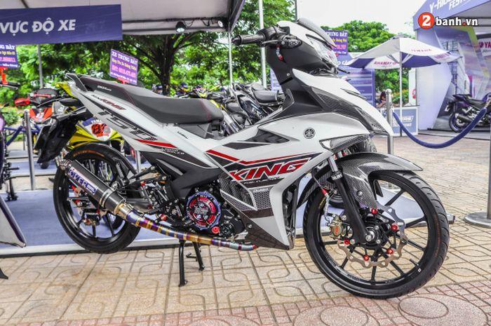 Modifikasi Yamaha MX King 150 bertampang sangar