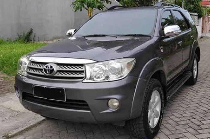 Ilustrasi Toyota Fortuner Diesel Bekas