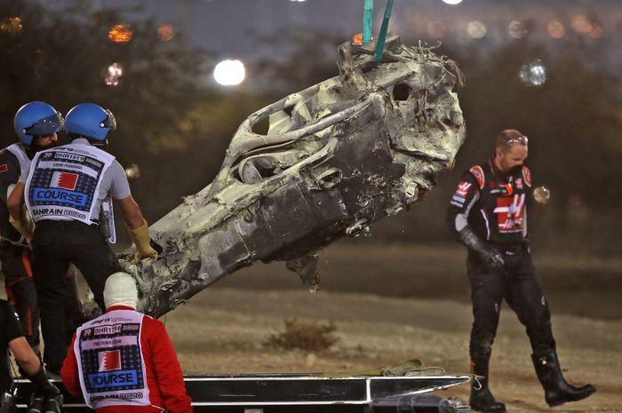 Crash Romain Grosjean di F1 Bahrain 2020 jadi bukti pentingnya perangkat Halo