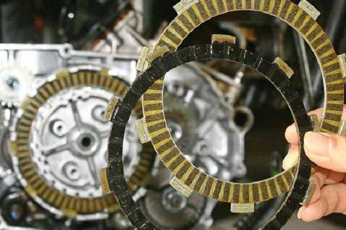 Ilustrasi kampas kopling motor