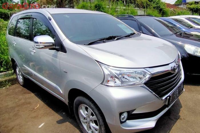 Ilustrasi Toyota Avanza Bekas
