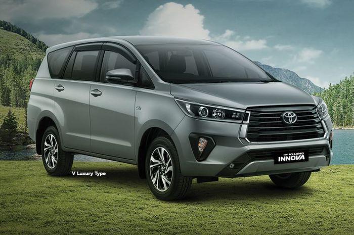 Ilustrasi Toyota Kijang Innova tipe 2.0 V Luxury.