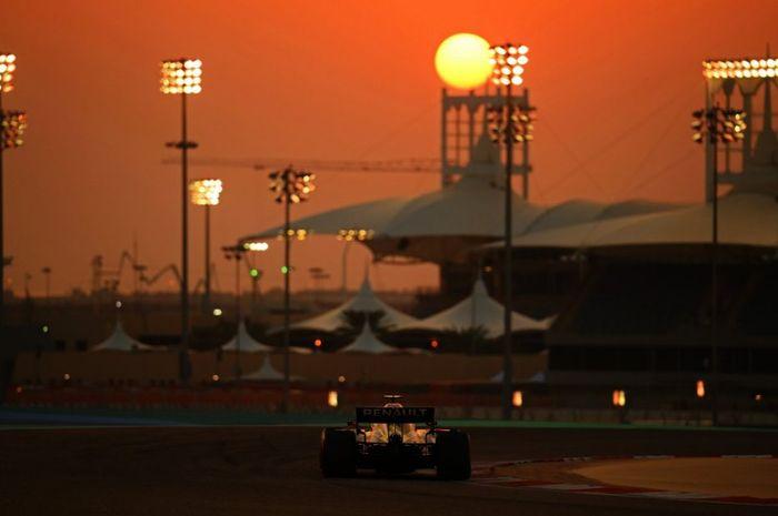 Ilustrasi Sirkuit Sakhir Bahrain