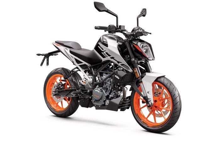 New KTM Duke 200 2021