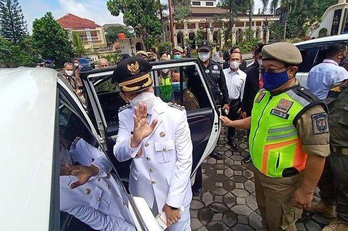 Putra sulung Presiden Jokowi, Gibran Rakabuming Raka sah jadi Wali Kota Solo.