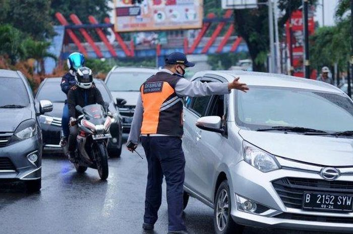 Ilustrasi ganjil genap di Bogor