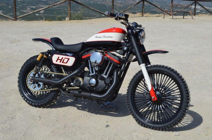 Soulbreaker Red, Harley-Davidson Sportster scrambler