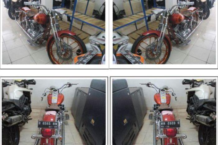 Harley-Davidson Softail Breakout yang dilelang KPKNL Makassar