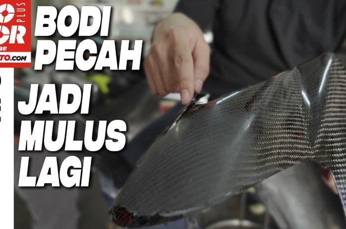 Video Penjelasan Cara Memperbaiki Bodi Motor yang Pecah