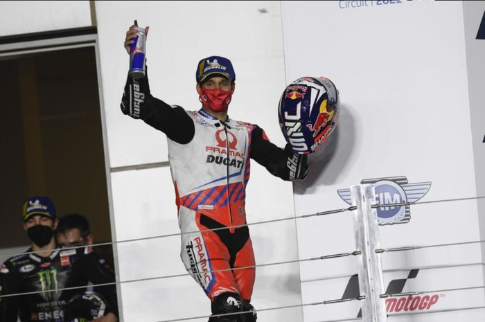 Johann Zarco rasakan banyak kepuasan dari MotoGP Qatar 2021.