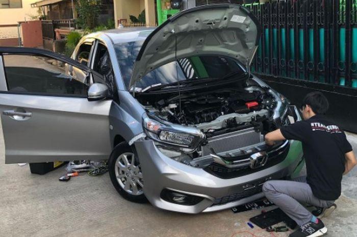 Ilustrasi Brio Satya upgrade ke tampilan Brio RS